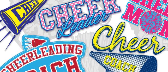 Coming Soon: More Cheerleading Designs & Clip Art