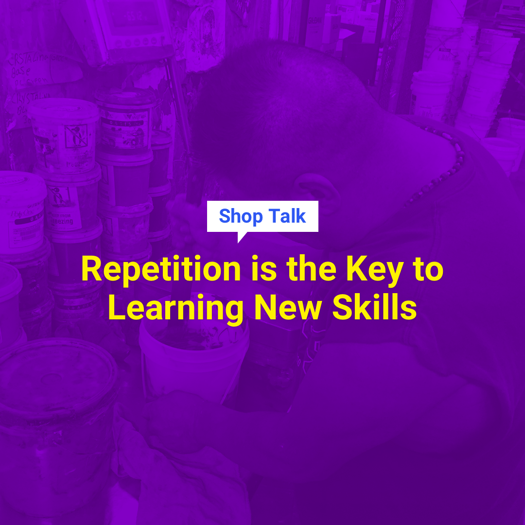 Repetition Is the Key to Learning New Skills | InkSoft